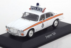 Jaguar XJ6 West Yorkshire Police Atlas 1:43