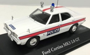 Ford Cortina MK III Essex Police 1:43 Atlas 1:43