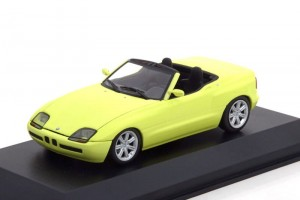 BMW Z1 (E30) 1991 yellow Maxichamps 1:43
