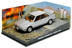 "Maserati Biturbo James Bond ""Licence to kill"" 1:43"