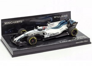 Williams Mercedes FW40 Abu Dhabi Test 2017 R.Kubica Minichamps 1:43
