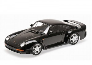 Porsche 959 1987 black Minichamps 1:18
