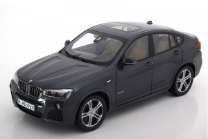 BMW X4 2014 Sophisto Grey Paragon 1:18