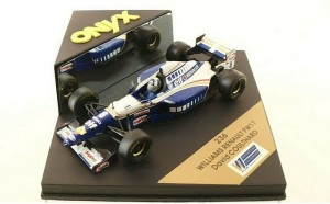 Williams Renault FW17 David Coulthard ONYX 1:43