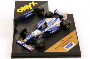 Williams Renault FW17 Damon Hill 1995 ONYX 1:43