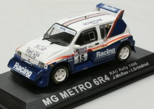 MG Metro 6R4 RAC Rally 1986  Altaya 1:43
