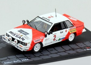 Nissan 240RS Safari Rally 1984 Altaya 1:43