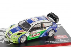 Ford Focus RS WRC Rally Monte-Carlo 2006 Altaya 1:43