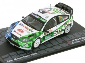 Ford Focus WRC Rally Monte-Carlo 2008 Altaya 1:43