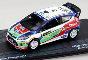 Ford Fiesta RS WRC Rally Sweden 2011 Altaya 1:43