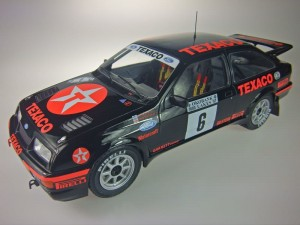 Ford Sierra RS Cosworth Rally 1000 Lakes 1987 A.Vatanen/ T.Harryman Altaya 1:18