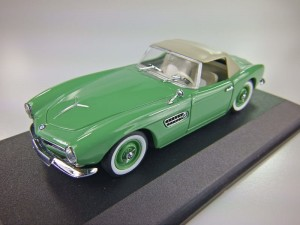 BMW 507 Cabrio Soft Top 1956-1959  Minichamps 1:43