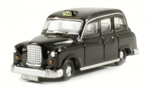 FX4 Taxi black Oxford 1:160