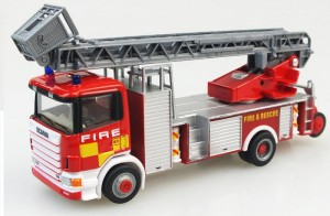 Scania 530 V8 Fire Rescue Cararama 1:87