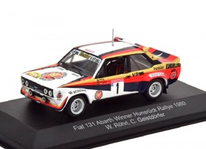 Fiat 131 Abarth Winner Hunsruck Rallye 1980 CMR 1:43