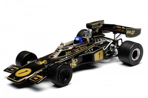 Lotus 72E Ronnie Peterson Winner GP Monaco 1974 Quartzo 1:43