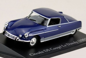 "Citroen DS 21 coupe ""Le Dandy"" Henri Chapron 1967 Atlas 1:43"