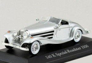 Mercedes-Benz 540 K Special Roadster 1936 Atlas 1:43