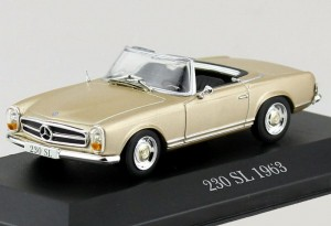 Mercedes-Benz 230 SL 1963 Atlas 1:43