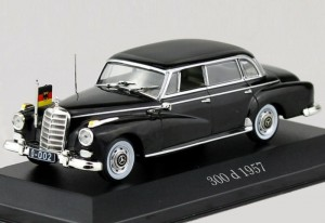Mercedes-Benz 300 d 1957 Atlas 1:43