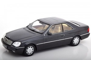 Mercedes-Benz 600 SEC C1140 1992 anthrazit KK-Scale 1:18
