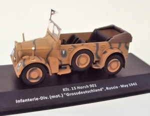 Horch Kfz. 15 901 Russia 1942 Altaya 1:43