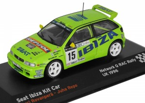 Seat Ibiza Kit Car Network Q Rac Rally 1996 Altaya 1:43