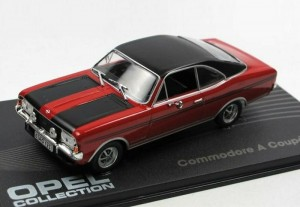 Opel Commodore A Coupe GS/E 1970-1971 Eaglemoss 1:43