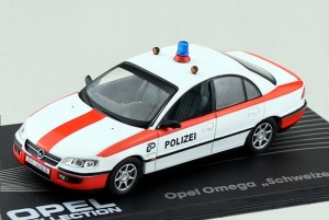 Opel Omega Polizei Switzerland 1994-1998 Eaglemoss 1:43