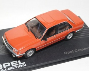 Opel Commodore C 1976-1982 Eaglemoss 1:43