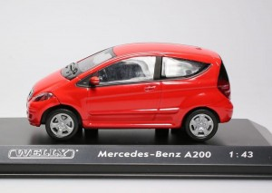 Mercedes-Benz A200 Welly 1:43