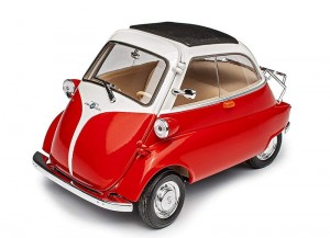 BMW Isetta 250 1955 Welly 1:18 red