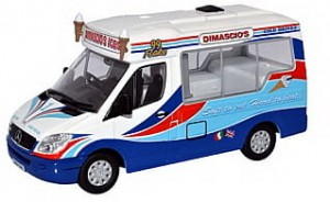 Mercedes-Benz Sprinter Dimascio's Ice Cream Oxford 1:43