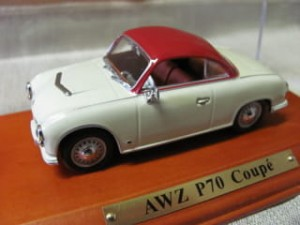AWZ P70 Coupe Atlas 1:43