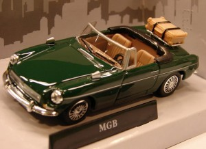 MGB Cabriolet open top