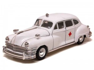 Chrysler Windsor Six Sedan 1947 Ambulance Vitesse 1:43