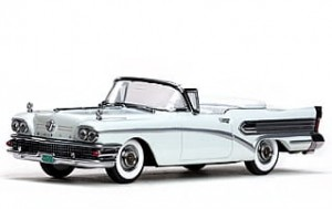 Buick Special 1958 white
