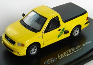 Ford F150 SVT Lightining yellow Anson 1:43