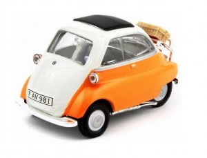 BMW Isetta 250 orange Cararama 1:43