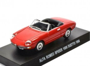 Alfa Romeo Spider 1600 Duetto 1966 Grani&Partners 1:43