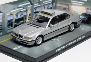 "BMW 750iL James Bond ""Tomorrow never dies"""