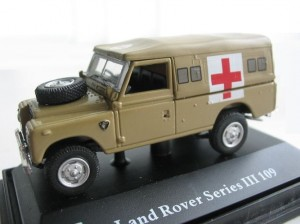 Land Rover Defender 109 military ambulance