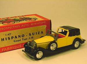 Hispano Suiza Coupe Type J-12
