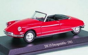 Citroen DS 19 Decapotable 1961 Atlas 1:43