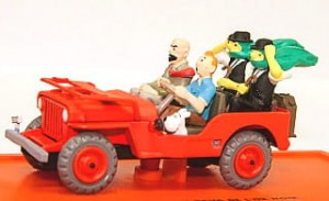 Tintin Jeep Willys MB 1943