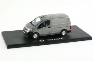 Nissan NV200 Van dark gray