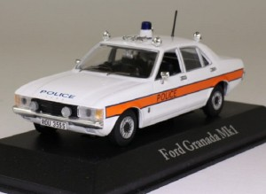 Ford Granada MkI Avon and Somerset Police Atlas 1:43