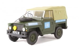 Land Rover 1/2 Ton Lightweight United Nations Oxford 1:43
