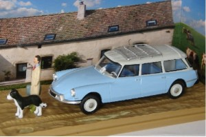 Citroen ID 19 Break Veterinaire Atlas 1:43