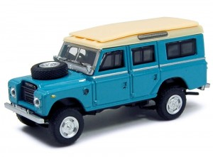 Land Rover Defender 109 blue